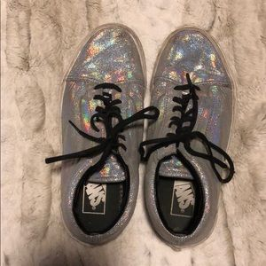 Holographic Vans Sneakers